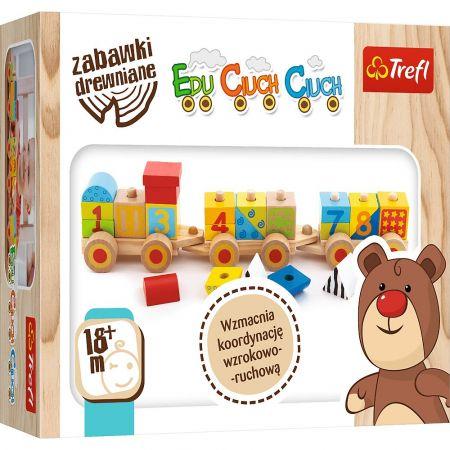Zabawka drewniana - Edu Ciuch Ciuch TREFL