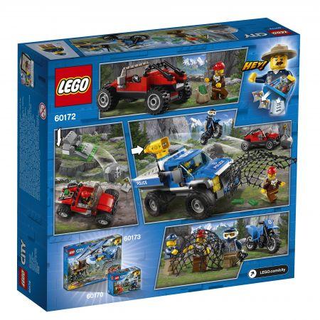 Lego City Pościg Górską Drogą 60172 Klocki W Taniaksiazkapl