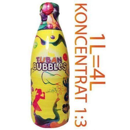 Płyn do baniek mydlanych - koncentarat 1 litr TUBA
