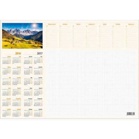 Kalendarz 2020 Biurkowy BIUWAR duży