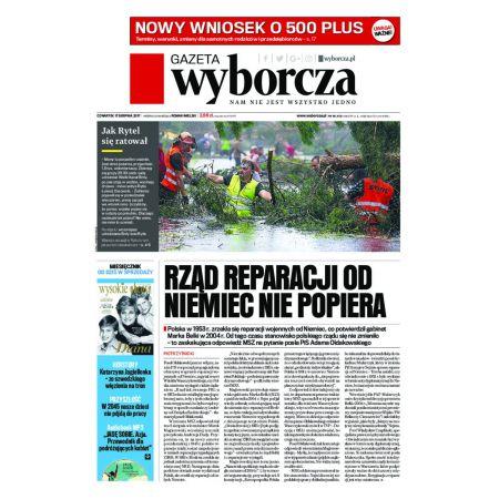 Gazeta Wyborcza - Rzeszów 190/2017