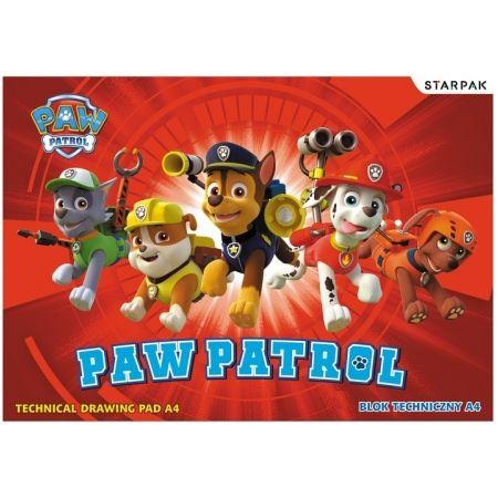 Blok techniczny A4 Psi Patrol STARPAK 352977