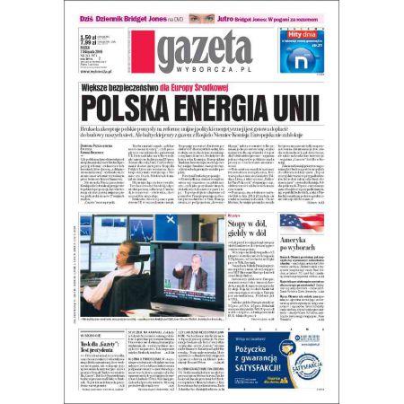 Gazeta Wyborcza - Płock 261/2008