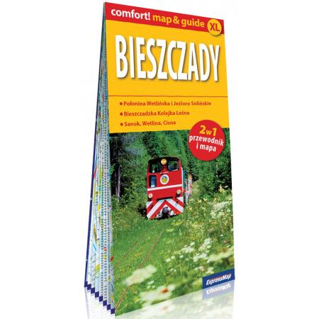 Comfort!map&guide XL Bieszczady 2w1