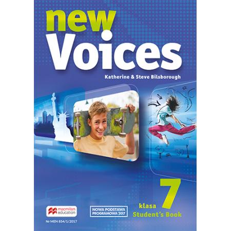 New Voices. Klasa 7. Książka ucznia. Język angielski. Szkoła podstawowa