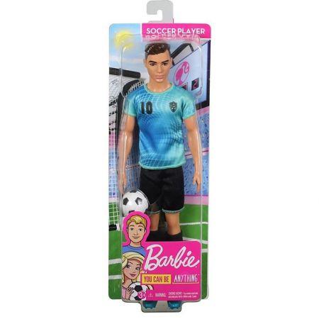 Barbie. Lalka Ken kariera piłkarz FXP02