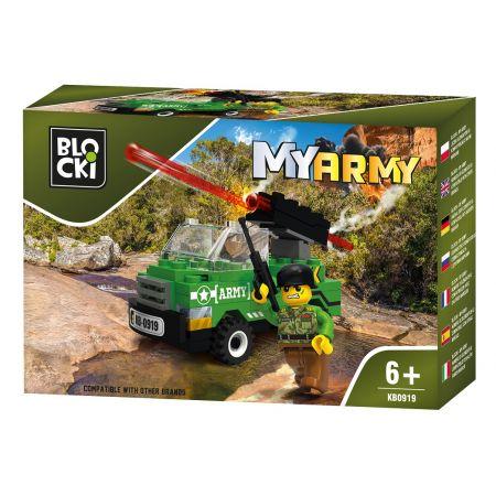 Klocki Blocki MyArmy 63 elementy KB0919