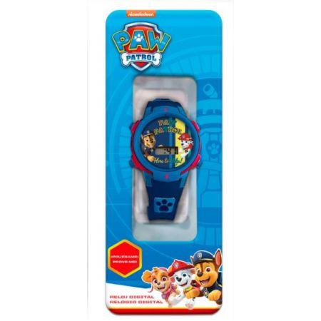 Zegarek cyfrowy ze światełkami LED Psi Patrol PW16680 Kids Euroswan