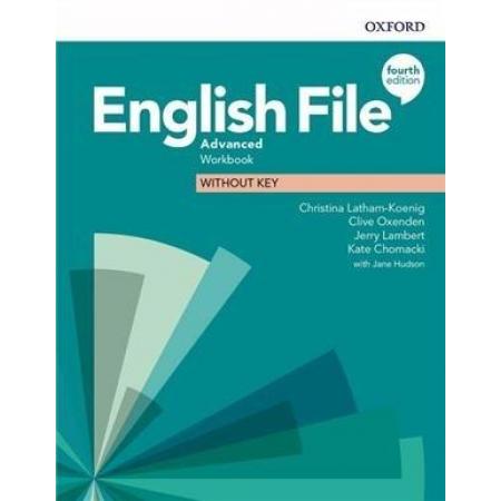 English File 4E Advanced WB without key OXFORD