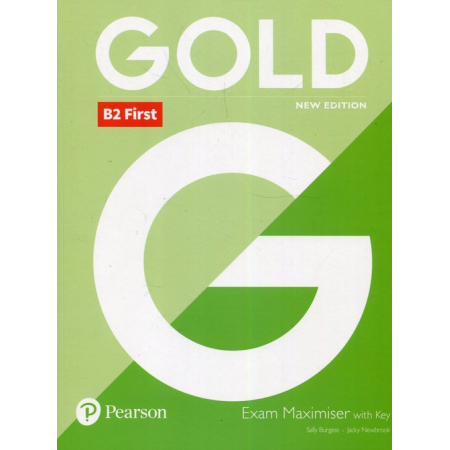 Gold B2 First 2018 Exam Maximiser with key PEARSON
