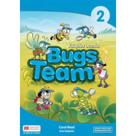 Bugs Team 2. Książka ucznia. Język angielski. Szkoła podstawowa
