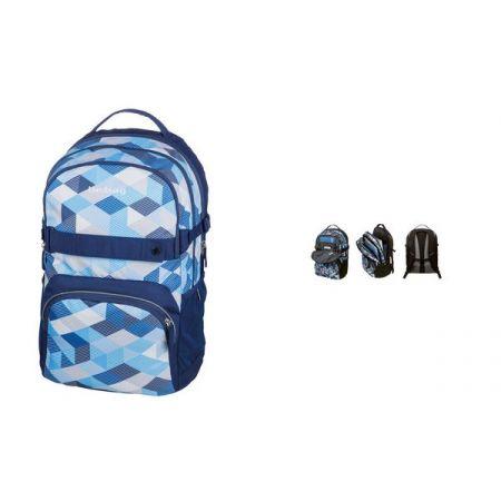 788fb34c6e6f0 Plecak szkolny Be.Bag Cube Blue Checked w TaniaKsiazka.pl