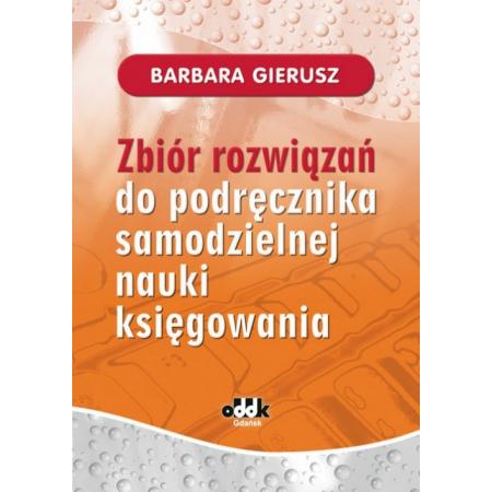 Zbiór rozwiązań do podręcznika samodzielnej nauki księgowania
