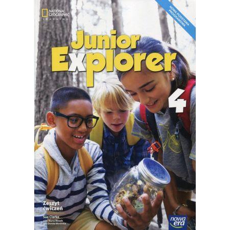 Junior Explorer 4. Zeszyt ćwiczeń do języka angielskiego dla klasy czwartej szkoły podstawowej