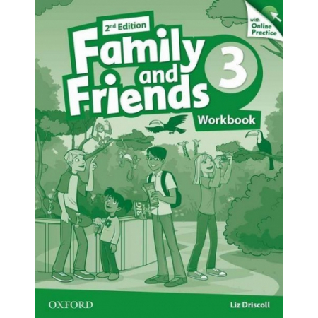 Family and Friends 2Ed 3 Workbook & Online Practice Pack