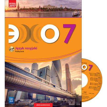 Echo. Język rosyjski. Podręcznik (z CD audio). Klasa 7. Szkoła podstawowa