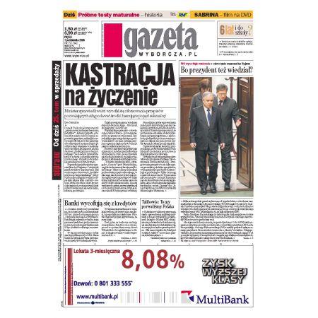 Gazeta Wyborcza - Częstochowa 232/2008