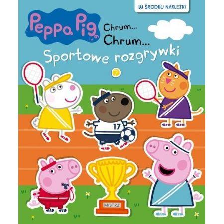 Świnka Peppa. Chrum... chrum..Sportowe rozgrywki