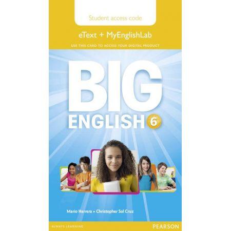 Big English 6 Pupils eText+MEL AccCodeCard