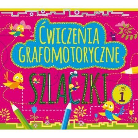 Ćwiczenia grafomotoryczne. Szlaczki cz.1