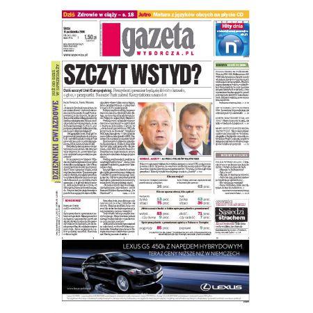 Gazeta Wyborcza - Płock 242/2008