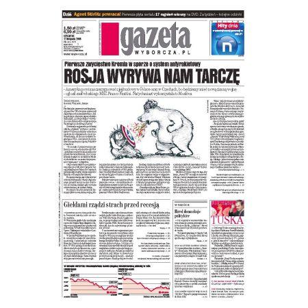 Gazeta Wyborcza - Płock 265/2008