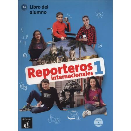 Reporteros Internacional 1 podręcznik + MP3