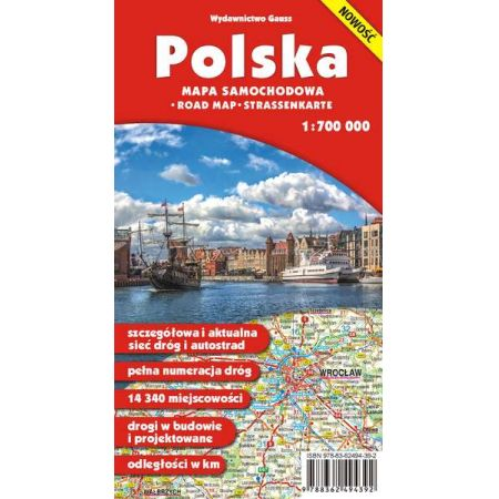 "Mapa ,,Polska 1:700 000"""