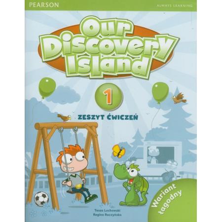 Our Discovery Island PL 1B AB + CD-ROM (łagodny)