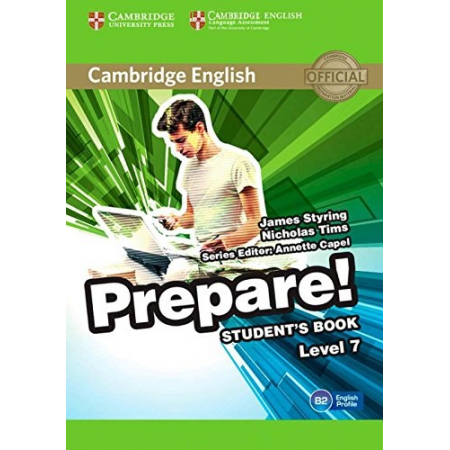 Cambridge English Prepare! 7 Student's Book