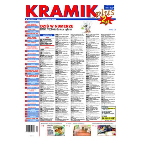 Kramik Plus 10/2013