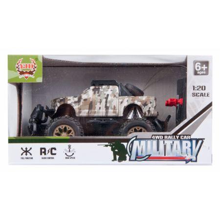 Auto wojskowe na baterie