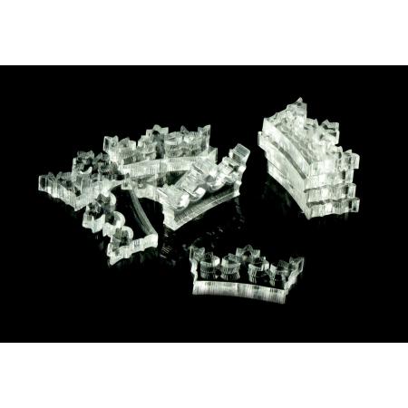Crafters: Znaczniki akrylowe - Transparentne - Kształt - Korona (10)