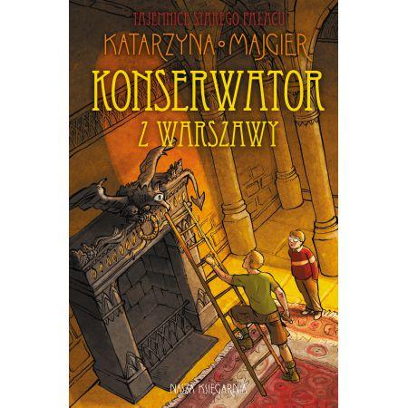 Tajemnice starego pałacu. Konserwator z Warszawy