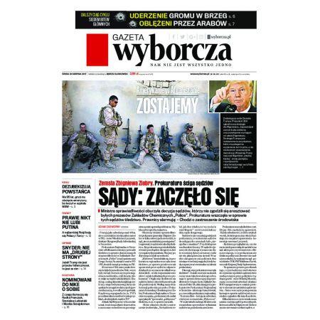 Gazeta Wyborcza - Płock 195/2017