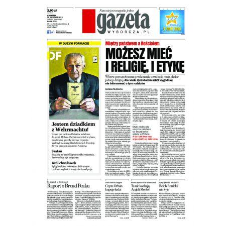 Gazeta Wyborcza - Zielona Góra 219/2013