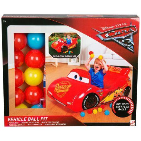 Samochód z piłeczkami Cars