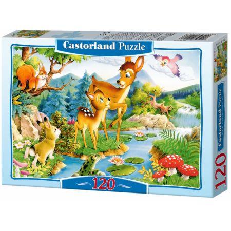 Puzzle 120 Bambi CASTOR