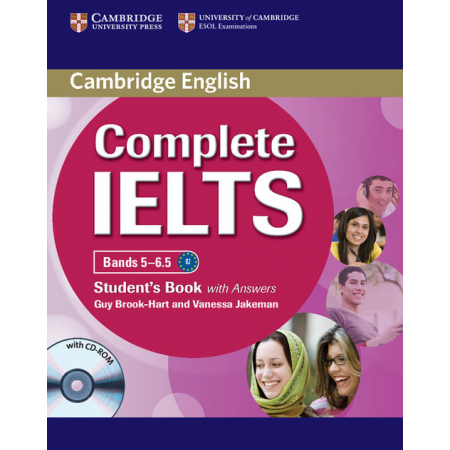 Complete IELTS Bands 5-6.5 Student's Book with answers + CD