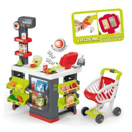 Supermarket z wózkiem 350213 SMOBY