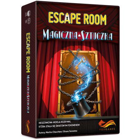 Escape Room. Magiczna sztuczka