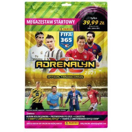Karty FIFA 365 2021 Adrenalyn XL Megazestaw startowy 00850 PANINI