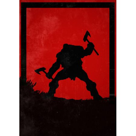 For Honor - Berserker - plakat