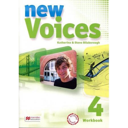 New Voices 4. Zeszyt ćwiczeń. Język angielski. Gimnazjum